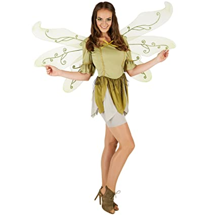 dressforfun Costume da Donna - Farfalla del Bosco Mandragora ... 4a4163c1369a