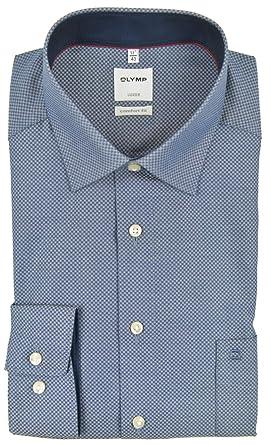 Eterna Hemd modern fit Kent mit Mini Karo Muster und extra