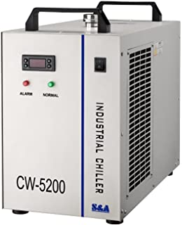 Industrial Water Chiller for CNC/ Laser Engraver with refrigeration CW5200 110V