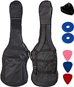 YMC 46-Inch Waterproof Dual Adjustable Shoulder Strap Electric Bass Guitar Gig