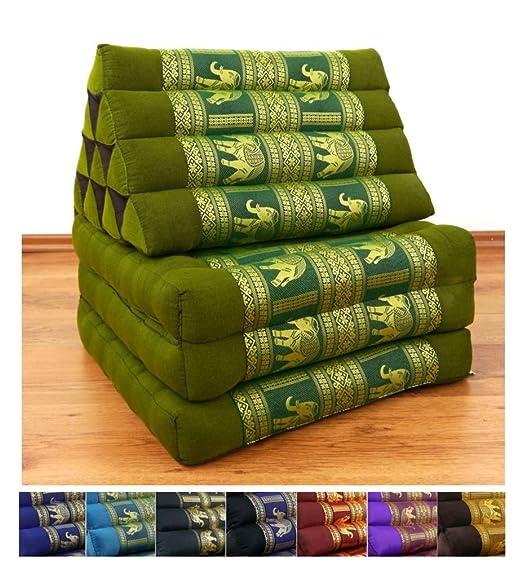 Cojín tailandés 3 pliegues, 177,8 x 50,8 x 7,62 cm (largo x ...