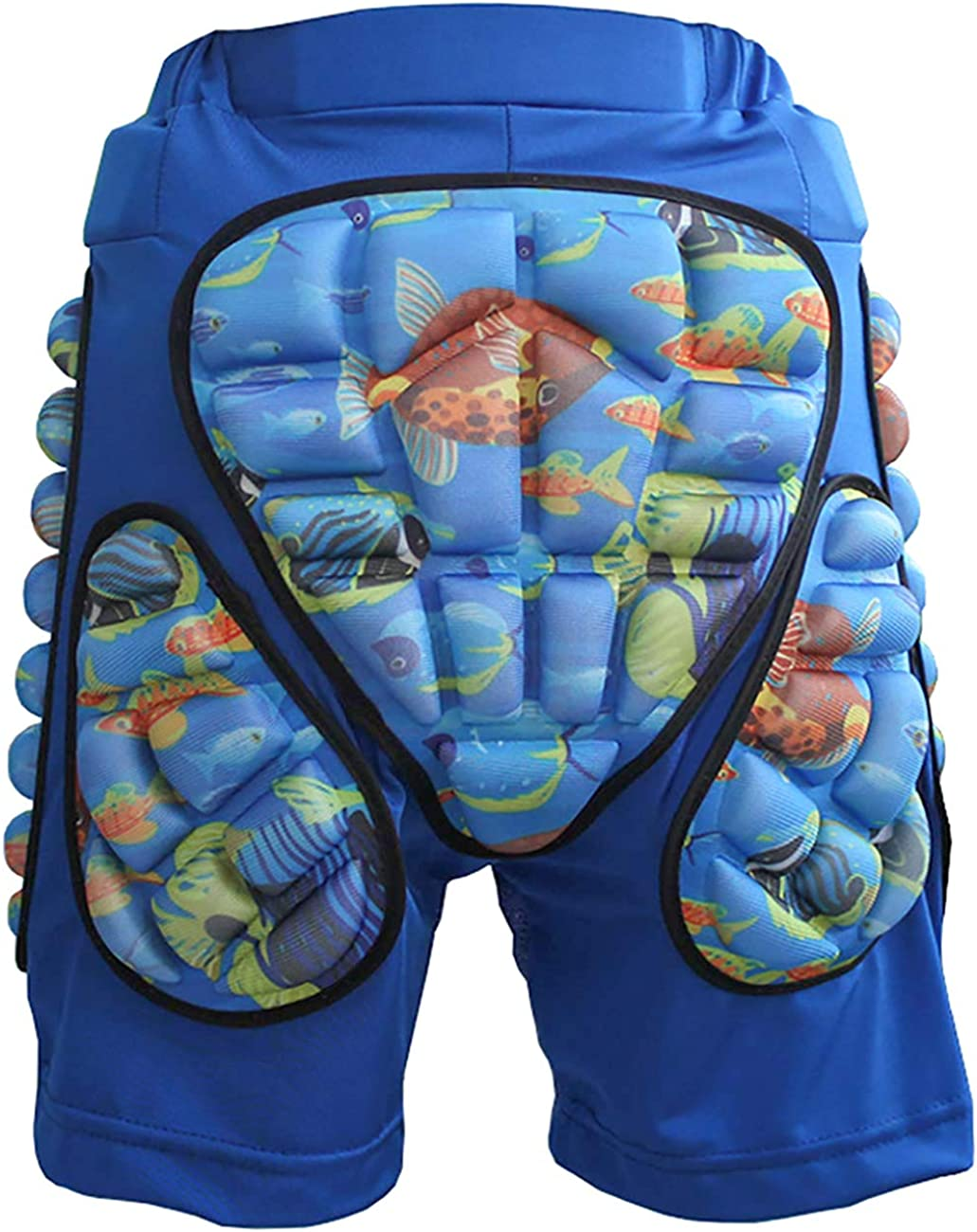 JMsDream 3D Padded Protection Hip EVA Short Pants Protective Gear for Kids /& Adults Skating Riding Roller