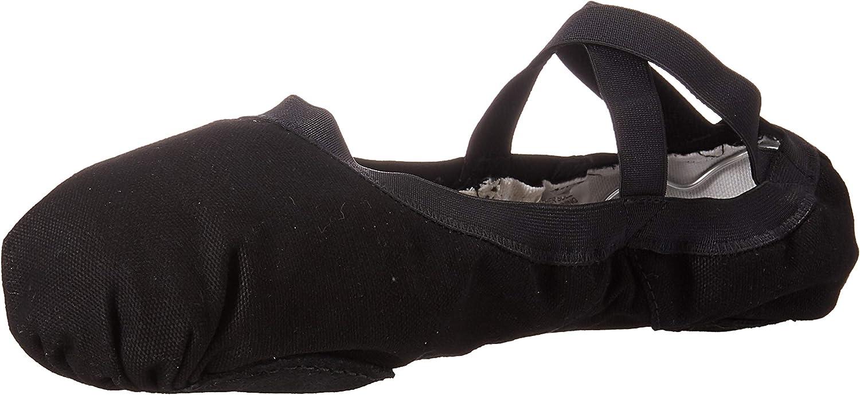 Bloch Dance Womens Pro Elastic Canvas Split Sole Ballet Shoe//Slipper