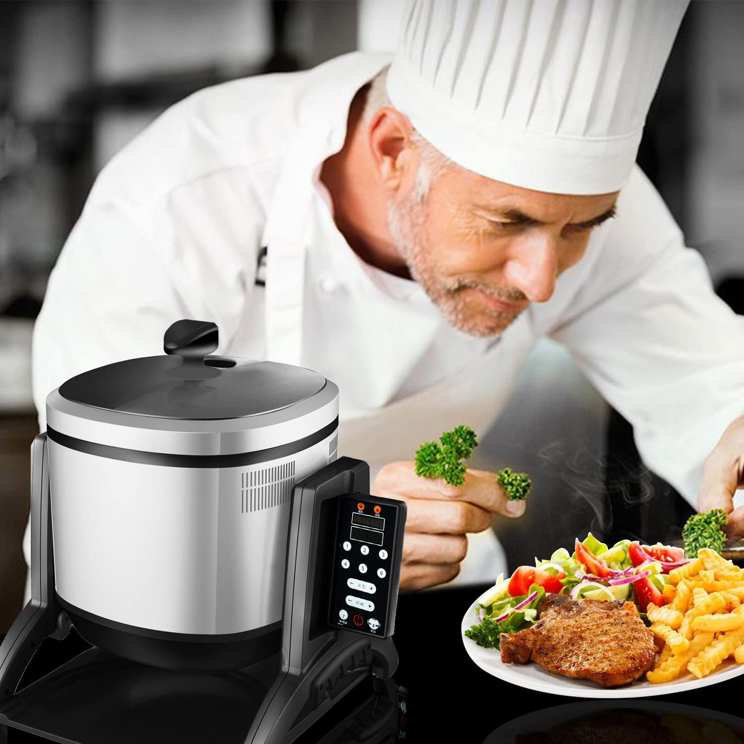 Xiaocaiyidie Commercial Intelligent Robot Cooker Automatic Cooking ...