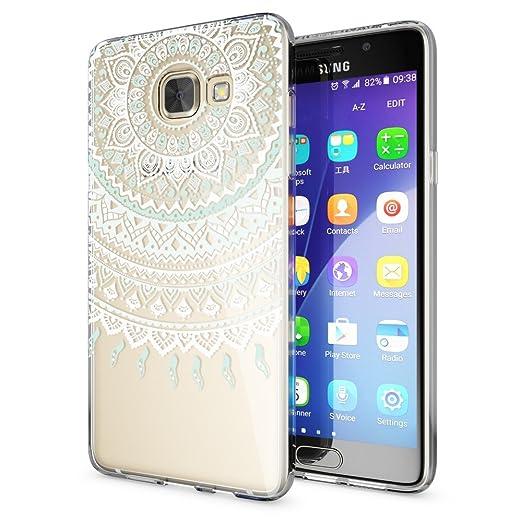 61 opinioni per Samsung Galaxy A5 2016 Cover Custodia Protezione di NICA, Silicone Trasparente
