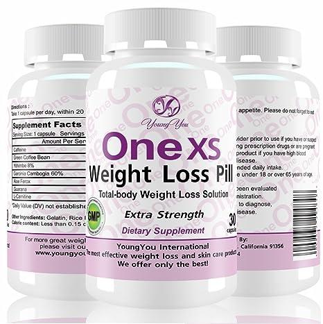 One XS Diet Pills Pharmaceutical Grade Weight Loss Supplement  Appetite  Suppressant