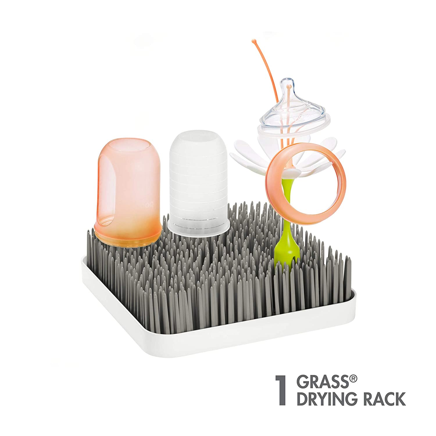 Multi Boon Grass Countertop Drying Rack with Stem /& Twig