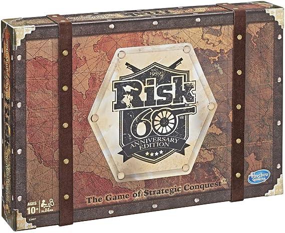 Risk - 60 Aniversario (Hasbro E3407105): Amazon.es: Juguetes y juegos