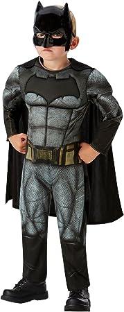 DC Comics - Disfraz de Batman Deluxe para niños, Justice League ...
