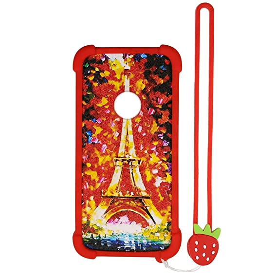 Case for ZTE z3001s Case Silicone Border + PC Hard backplane Stand Cover TT