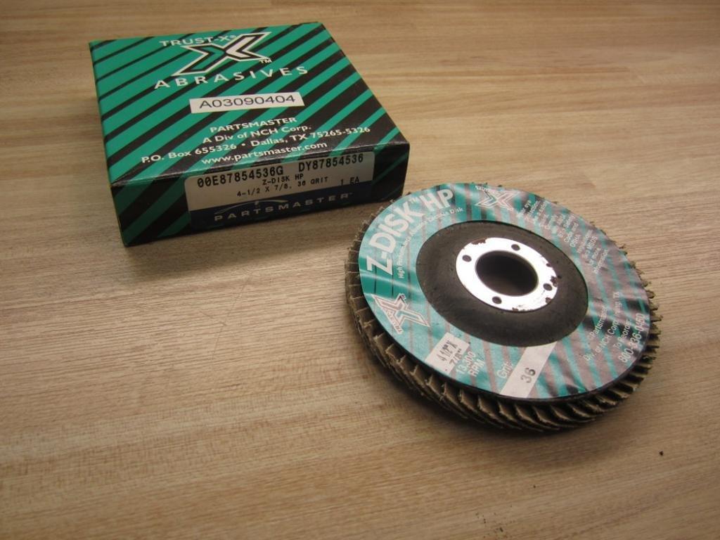 Trust-X A03090404 Grinding Wheel 36 Grit 4 1/2'' X 7/8''