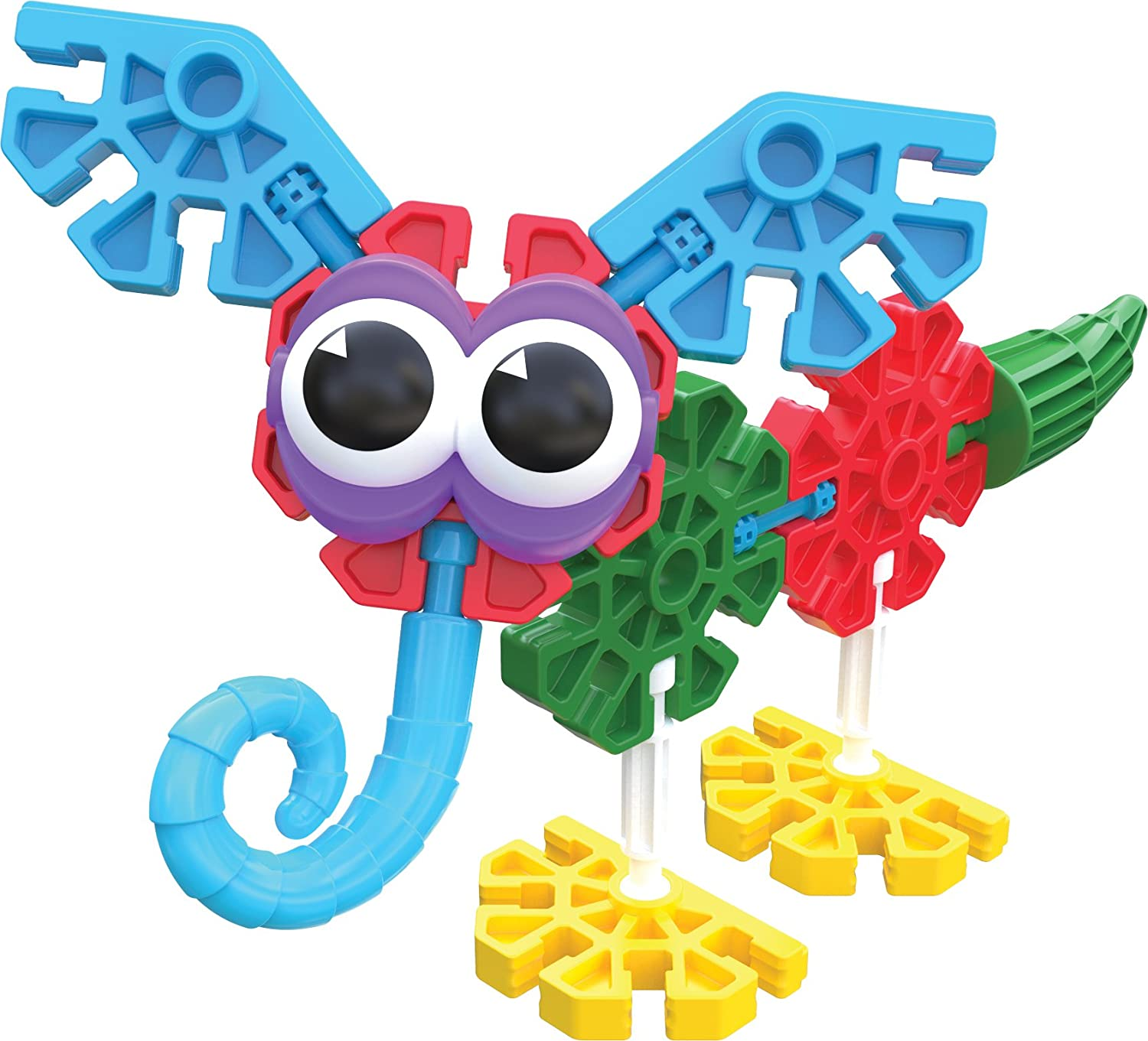 100 Pieces Preschool Educational Toy Kid K/'NEX Budding Builders Building Set Ages 3 and Up