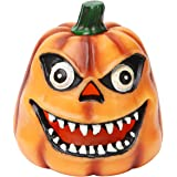 Pumpkin Funny Face Candle ,with 4&8 Hours Timer, Battery Operated for Special Decoration and Present