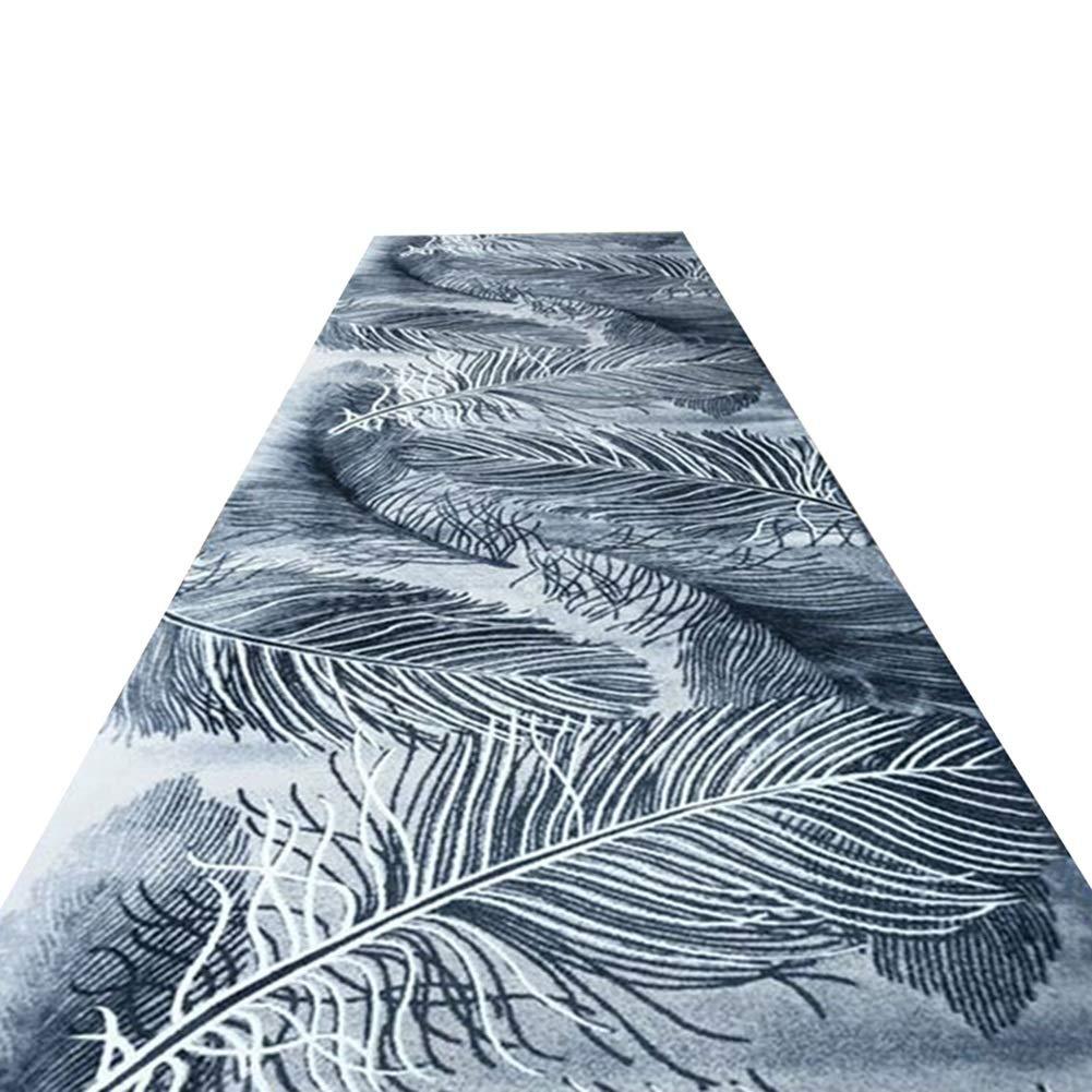 HAIPENG 廊下のカーペット狭い ランナー ラグ 滑り止め エントリ 敷物 廊下 カーペット エリアラグ 薄いです エントランス マット にとって キッチン そして 入り口 (色 : A, サイズ さいず : 1.6x7m) 1.6x7m A B07MVWLRLP