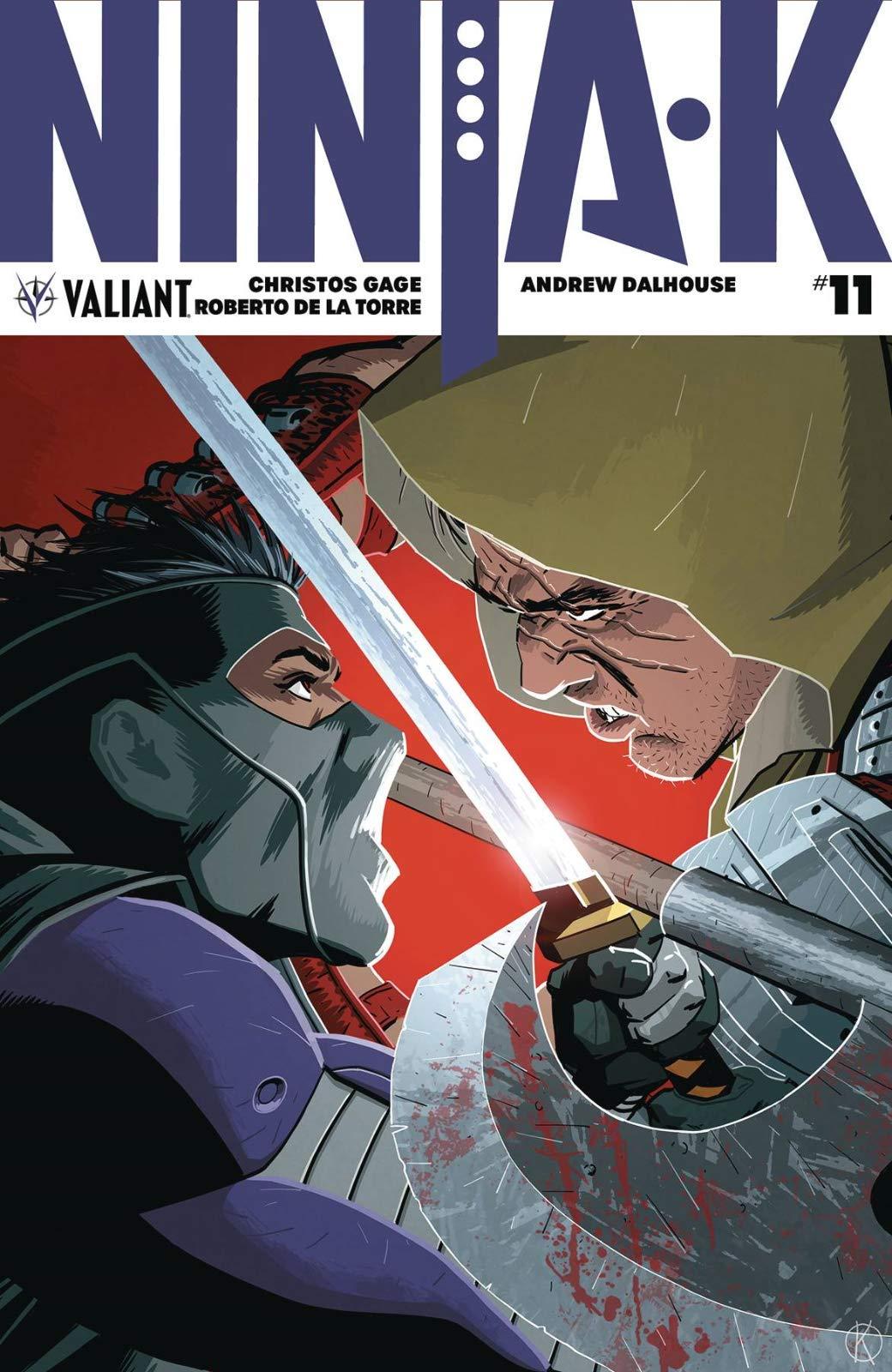 Ninja-k #11 Cover A: Christos Gage: Amazon.com: Books