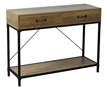 Amazon Com Ehemco Antique Console Table With 2 Drawers And 1 Shelf