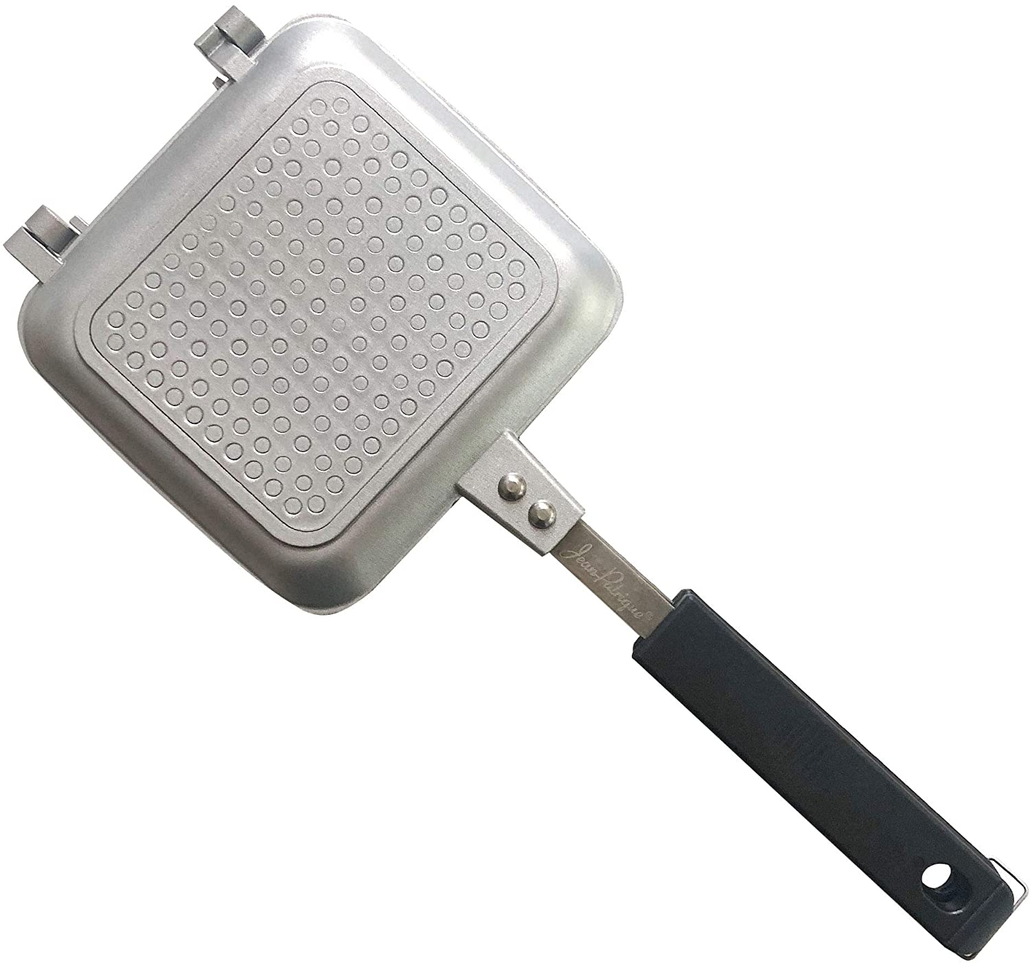 Jean-Patrique Toasted Sandwich Maker Non-Stick Technology Ideal for Outdoors – Silver