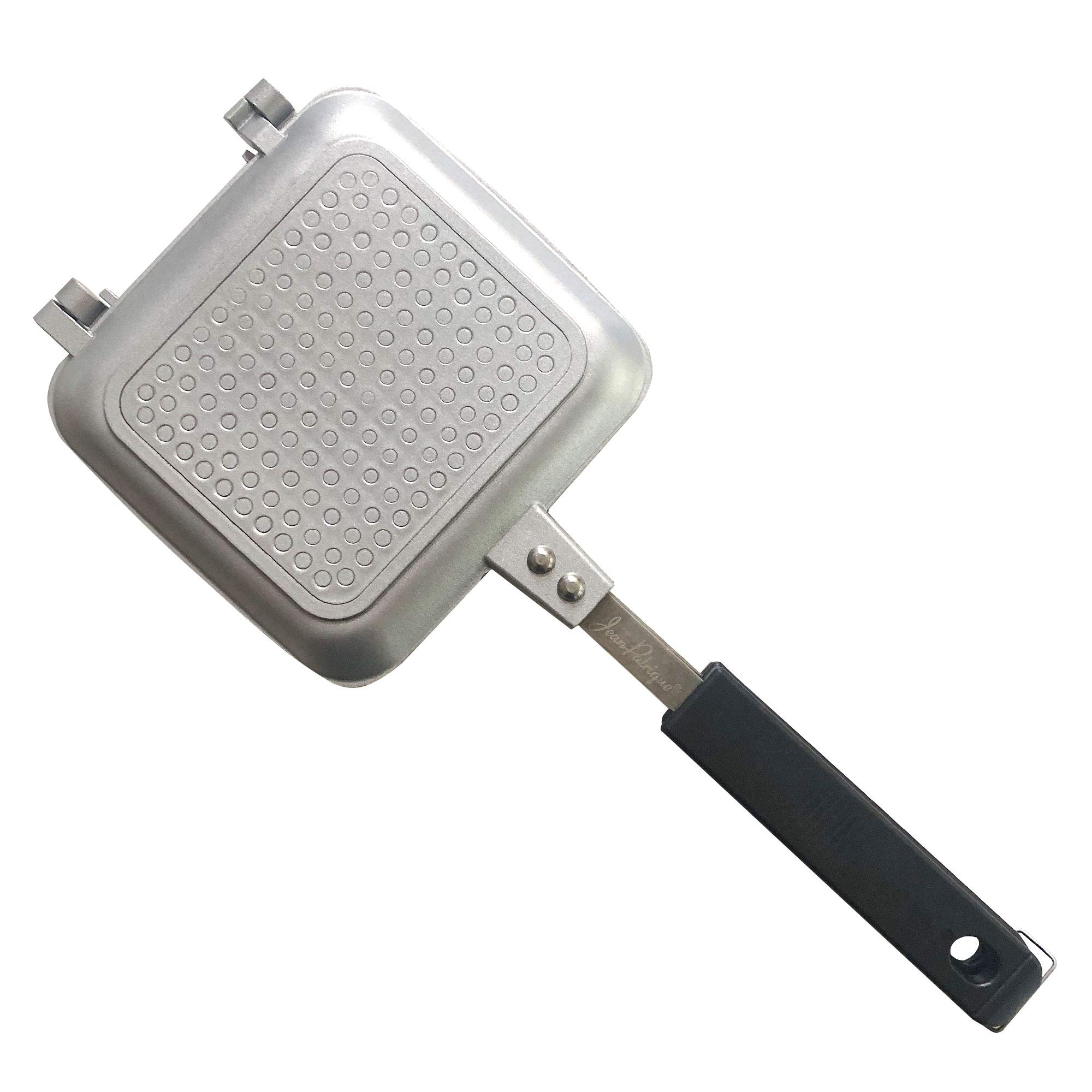Jean-Patrique Toasted Sandwich Maker Non-Stick Technology Ideal for Outdoors - Silver by Jean-Patrique