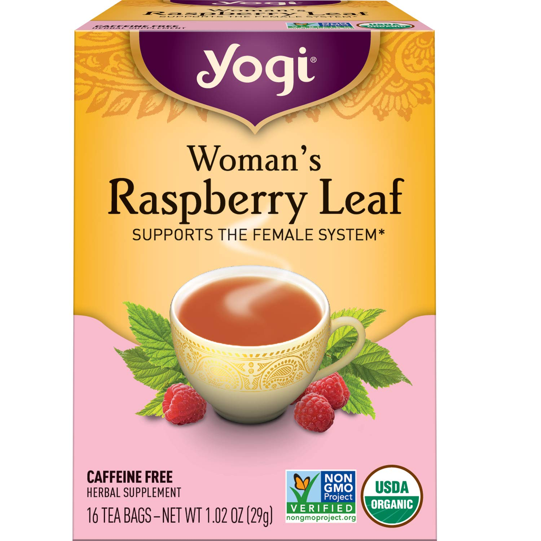 Yogi Tea - Woman's Raspberry Leaf - 4 Pack, 64 Tea Bags