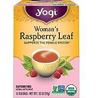 Yogi Tea - Woman's Raspberry Leaf (6 Pack) - Supports the Female System - 96 Tea...