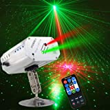 Party light DJ Disco Stage Lights Sbolight Led Projector Stage Lights Karaoke Strobe Perform for Stage Lighting with Remote Control for Dancing Christmas Gift Thanksgiving KTV Bar Birthday Outdoor