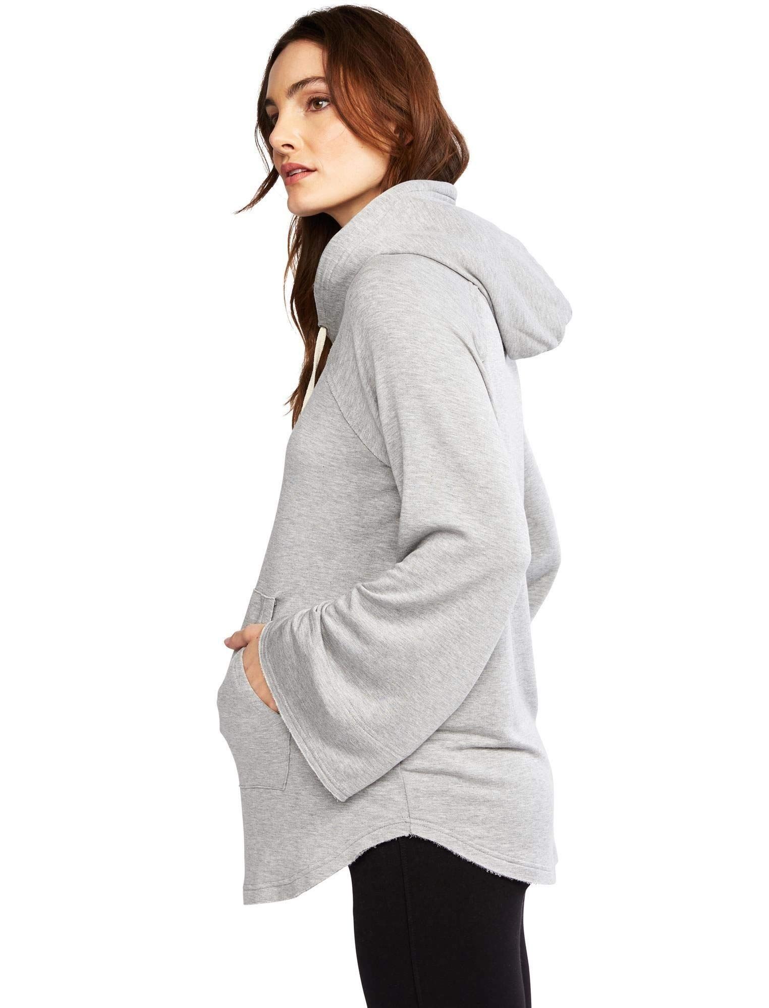 A Pea in the Pod Splendid Super Soft Maternity Hoodie Heather Grey