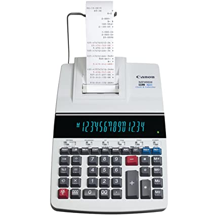 canon mp49d ii printing 14 digit calculator with fluorescent display rh amazon ca Canon Owner's Manual Canon A-1 User Manual in Print