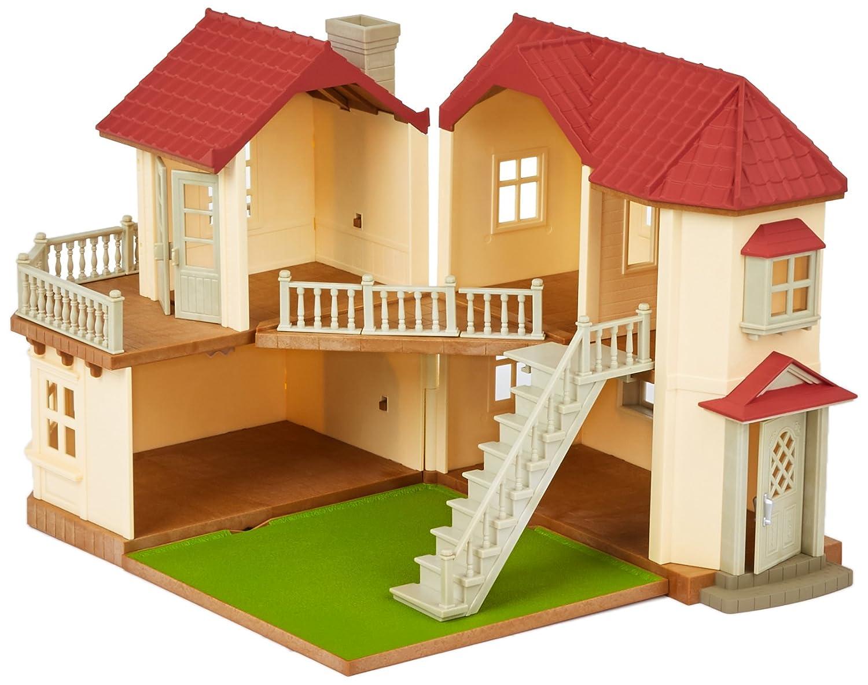 Sylvanian families 2 storey home beechwood hall sylvanian families amazon co uk toys games