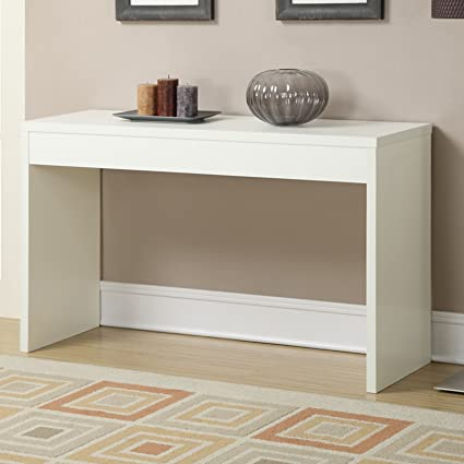 Good Basic Square Hallway Console Table Made Of Composite Wood With A Beautiful  Woodgrain Finish, Great