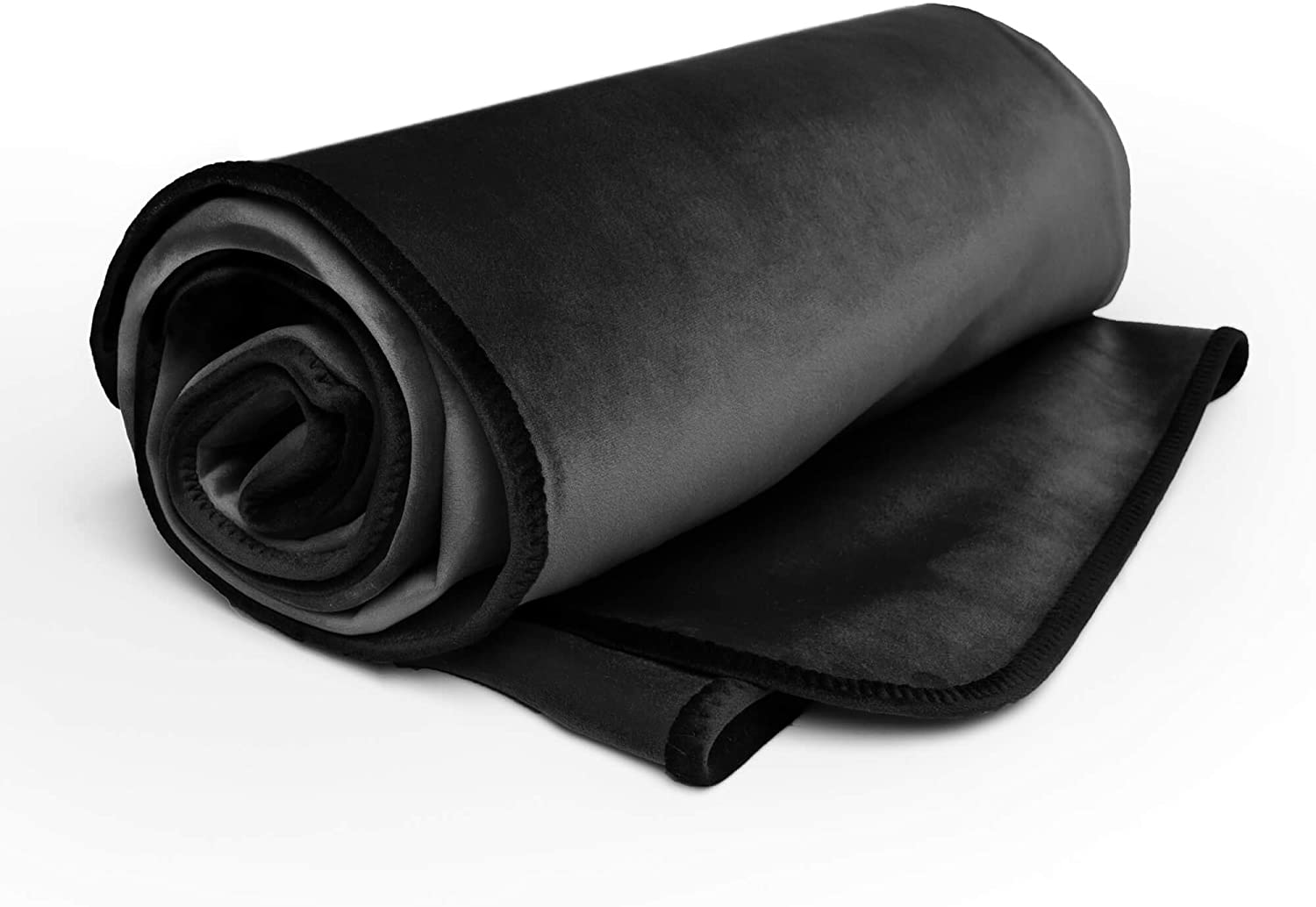 Amazon Com Liberator Lush Throw Moisture Resistant Blanket King Size Black Kitchen Dining