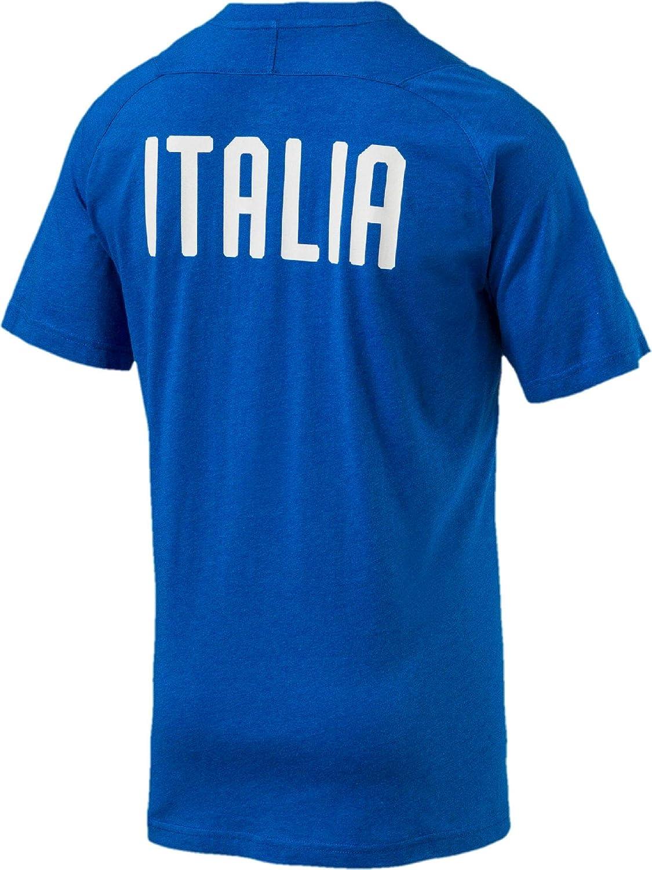 PUMA FIGC Italia Casual Performance Camiseta de SS Camiseta ...