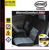 Heyner 505600 CARBON-Auto-Heizsitzbezug, 12 V, Schwarz
