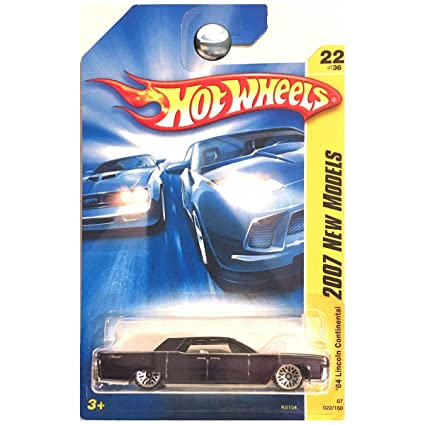 Amazon Com Hot Wheels 2007 New Models 1964 64 Lincoln Continental