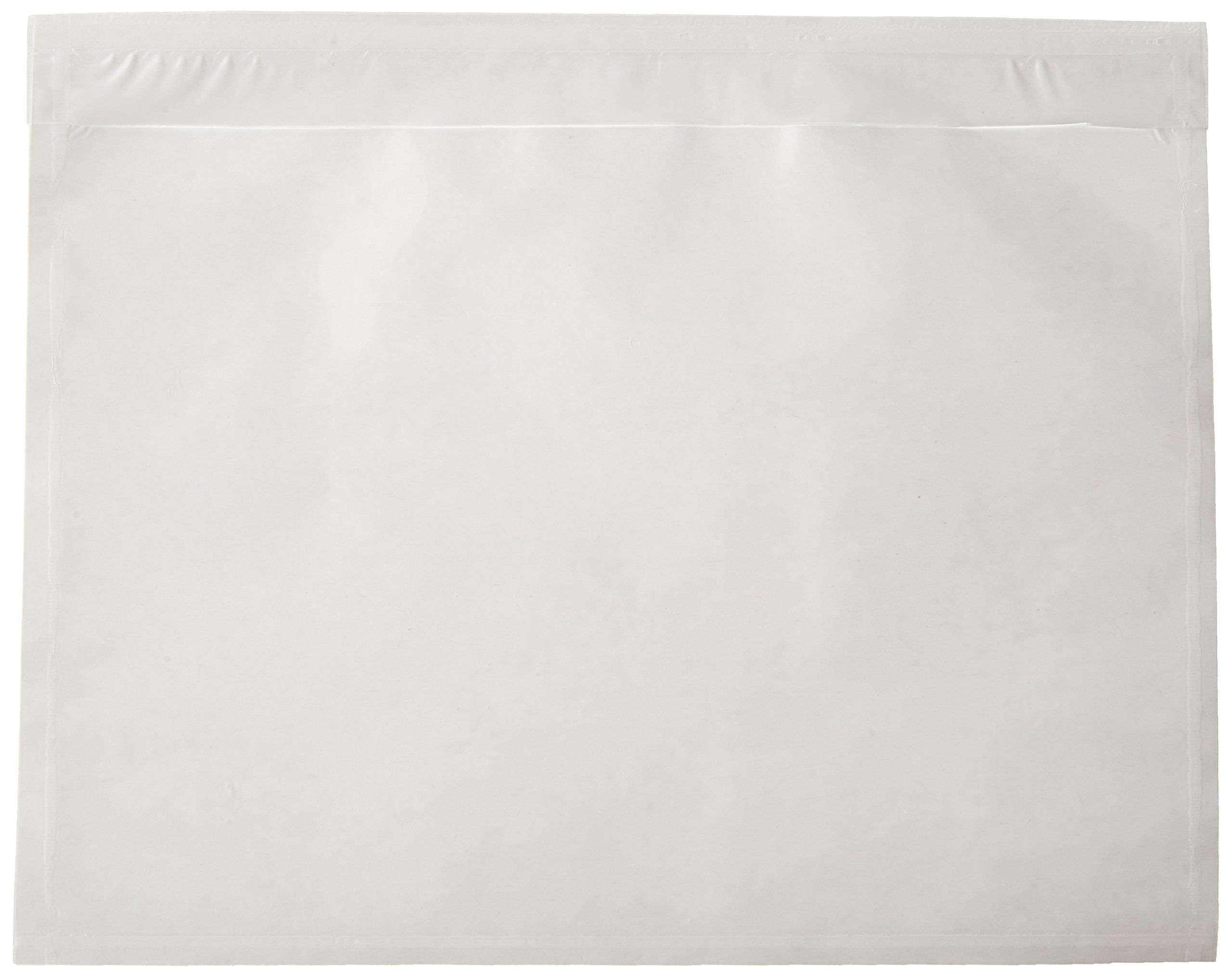 NE IMAGE - 7.5'' x 5.5'' - Clear Adhesive Back - Packing List/Shipping Label Envelope Pouches (100pk)