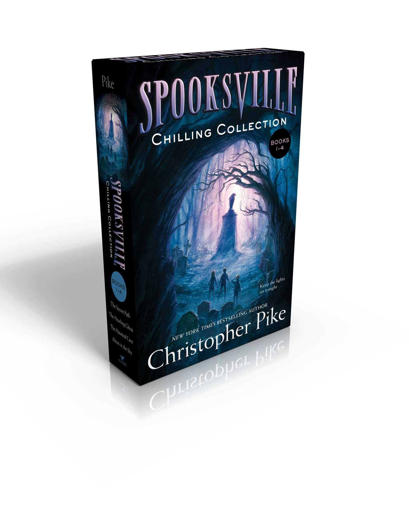 Download Spooksville Chilling Collection Books 1-4: The Secret Path; The Howling Ghost; The Haunted Cave; Aliens in the Sky ebook