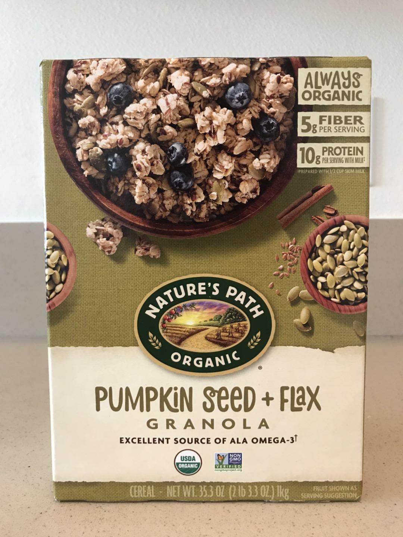 Amazon.com: Nature's Path Organic Granola Cereal, Pumpkin