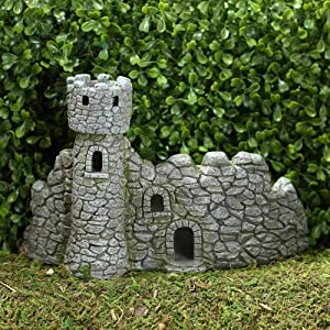 Fiddlehead Dragon's Keep Fairy Castle Miniature Home Abode Garden Accessory