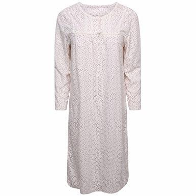 MARKS   SPENCER Ladies Fluffy Fleece Nightdress Nightie Warm Gifts M S Xmas  (12-14 fd064dcdc