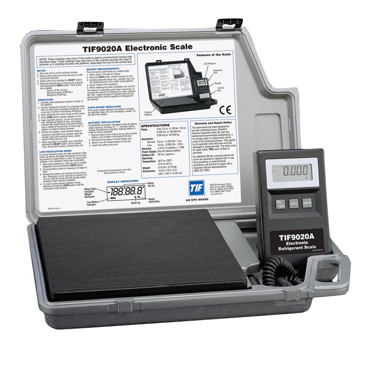 Amazon.com: robinair tif9020 a Báscula Electrónica De ...