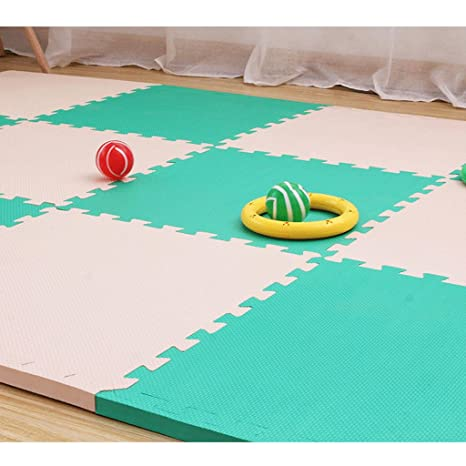 Niños tapetes de rastreo, colchonetas de espuma de tatami, mantas de juego de empalme de bebés, ...
