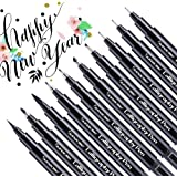Image for Calligraphy Pens, Hand Lettering Pen, 10 Size Caligraphy Brush Pens for Beginner, Writing, Sketching, Drawing…