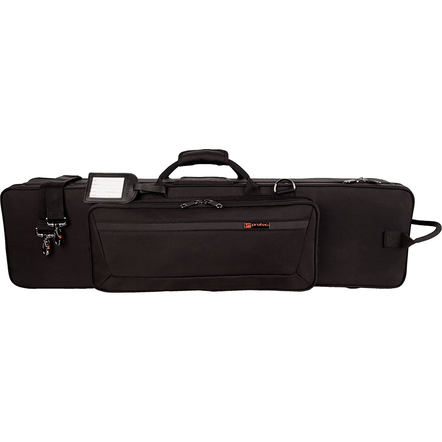 e491e5d25c3 Amazon.com: Protec PB319 Eb Bass Clarinet with One Piece Body PRO PAC Case:  Musical Instruments