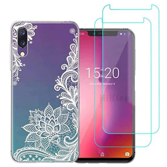 Amazon.com: UMIDIGI F1/F1 Play Case with 2 Pack Glass Screen ...