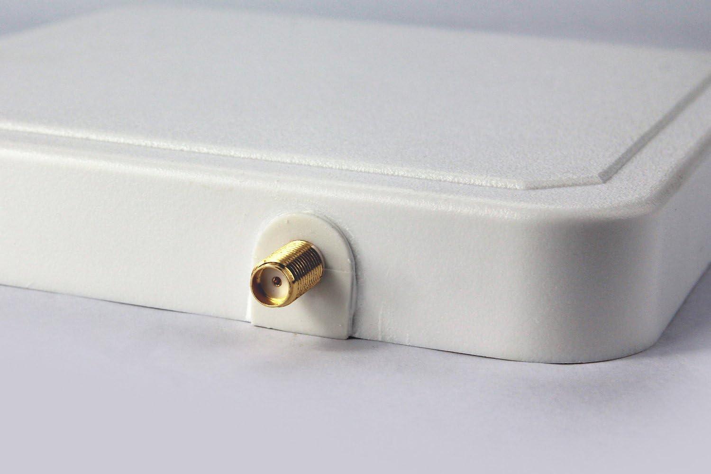 logistique et gestion de larticle et etc. Antenne UHF Lecteur RFID entrep/ôt 868/MHz 6dbic circulaire RFID Antenne avec connecteur sma-50kfd Convient pour gestion de Garde dentr/ée bestga bsra-02sr IP65/865