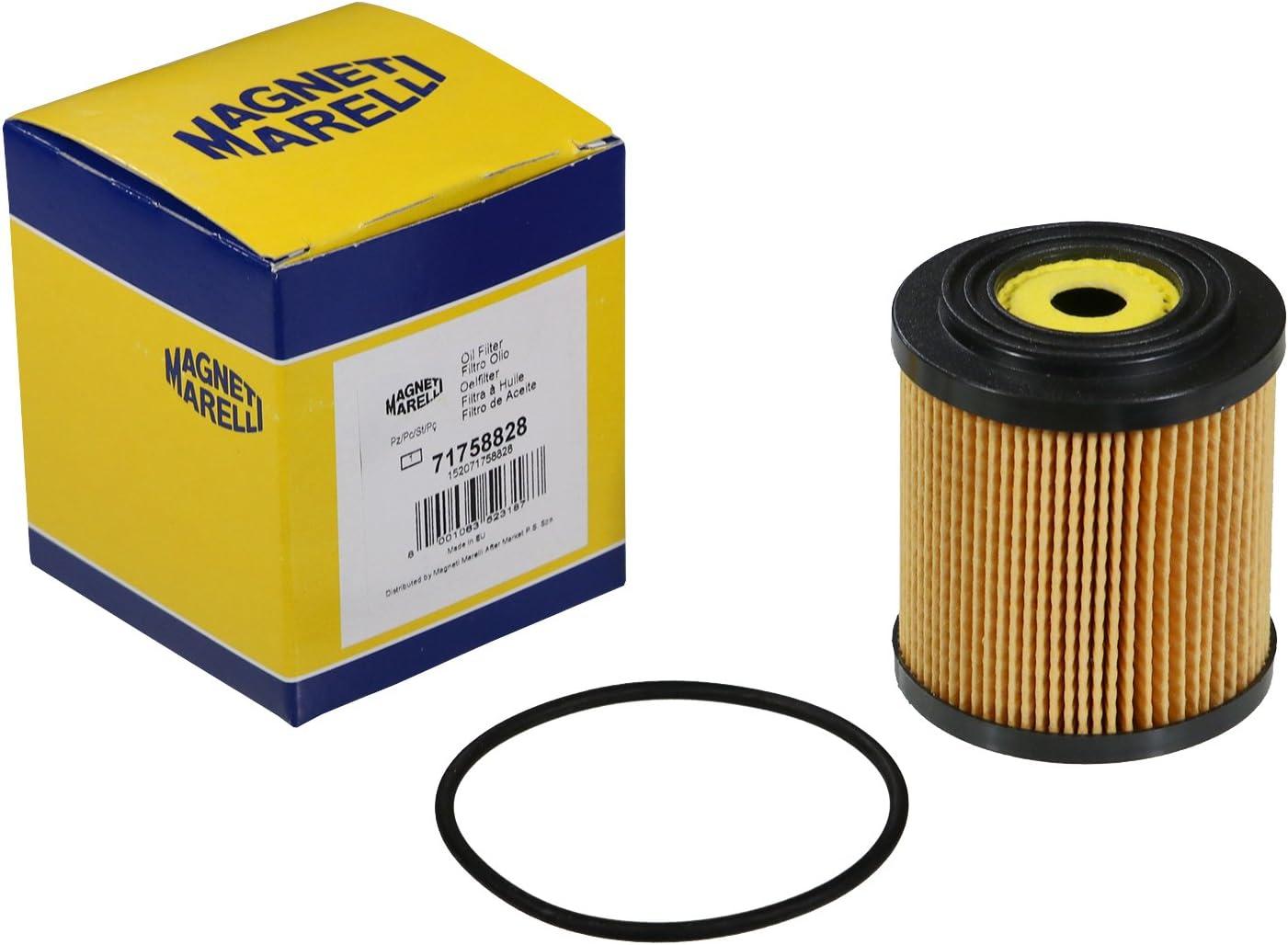 Magneti Marelli Oil Filter D1 72 D2 28 5 D3 16 5 Mm Height 81 Mm 7087808 Auto