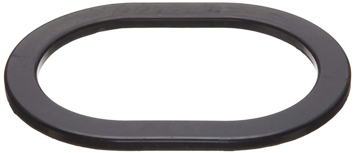 Black EPDM Gasket for Boilers and Access Covers 1//4 Thick Oblong Pack of 1 11 X 15 X 1-1//4