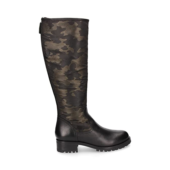 Femme Iciar Pour Bottes Chaussures Vert Unisa Vert PTq7xH