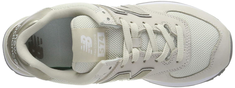 New Balance Damen 574v2 Sneaker Weiß (Off White Off White)