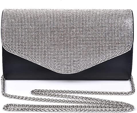 Women Envelope Soft Touch Patent Leather Party wedding Bridal Prom clutch bag
