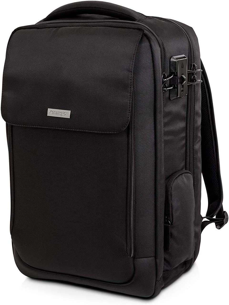 "Kensington SecureTrek 17"" Lockable Anti-Theft Laptop & Overnight Backpack (K98618WW)"